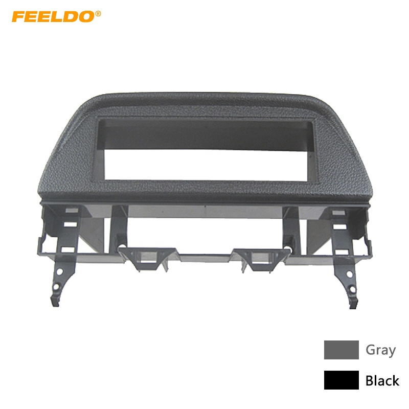 FEELDO Car 1 <font><b>Din</b></font> CD/DVD Stereo Fascia Frame Panel for <font><b>Mazda</b></font> <font><b>6</b></font> Atenza 02-07 Refitting Dash Mounting Trim Kit #HQ4999 image