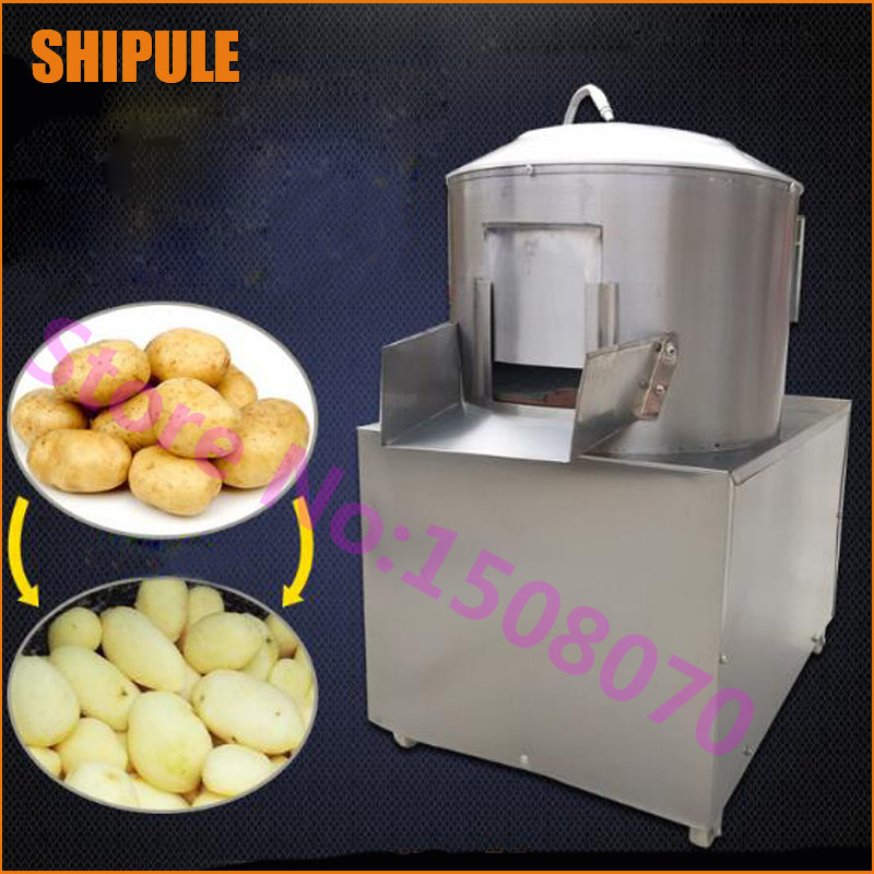 SHIPULE 2018 new technology 150-220kg/h industrial fresh potato peeling machine/potato washer/commercial potato peeler machine футболка мужская puma evo core tee цвет белый 57244502 размер xl 50 52