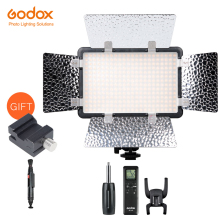 Godox LED308C II 3300 K 5600 K LED Video Light Lamp + Remoto para DV Câmera Filmadora