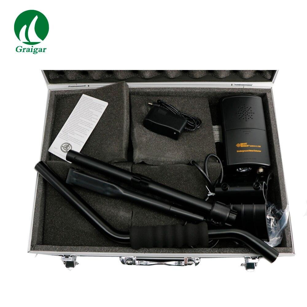 Gold finder Smart Sensor AS944, Handheld Underground Metal Detectors 2.5m Depth Treasure Hunt Treasure Instrument metal Detector