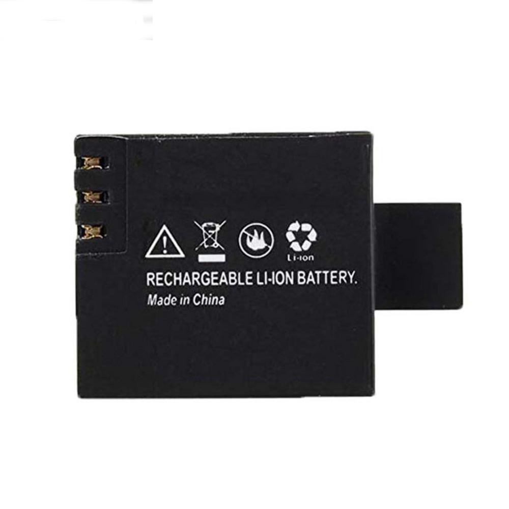 2pcs 900mAh Battery + Dual Charger For SJCAM SJ4000 SJ5000 SJ6000 Akaso v50 pro Sport DV Mini Sport Cam Replacement Batteria - ANKUX Tech Co., Ltd