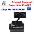 Diagmall Super Mini Bluetooth ELM 327 Chip 25k80 Scanner Code reader ELM327 Smart Car Diagnostic Tool ELM327 Multi-language