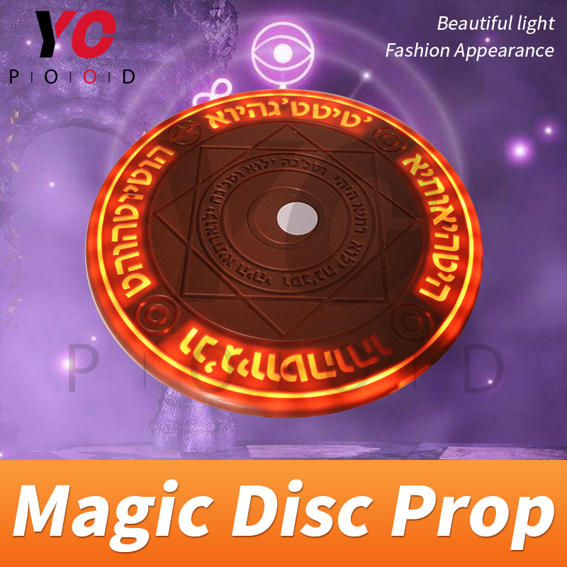Image 5 - YOPOOD Magic Disc Prop Escape Room Real Life game use RFID card to trigger magic array be bright gradually until open takagism-in Access Control Kits from Security & Protection