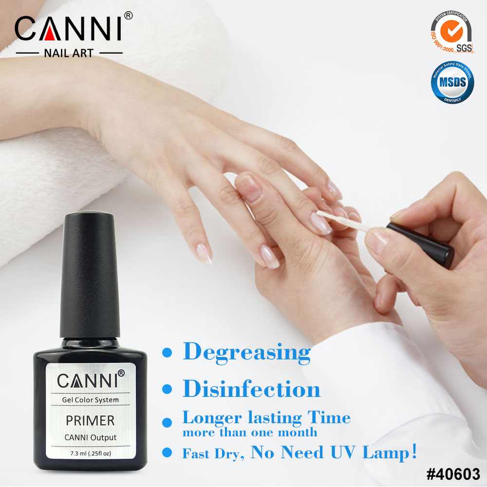 Aliexpress 40603 Canni Factory Supply 7 3ml No Need L To Cure Long Lasting Uv Gel Nail Primer From Reliable Suppliers On