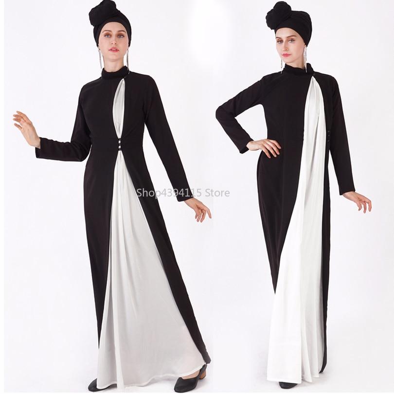 Kaftan Abaya Dubai Hijab Muslim Dress Turkey Jilbab Caftan Ramadan ...
