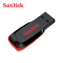 SanDisk USB флэш-накопитель Cruzer Blade U диск 8 ГБ 16 ГБ 32 ГБ мини-накопитель 64 ГБ 128 ГБ USB 2,0 флэш-накопитель (SDCZ50)