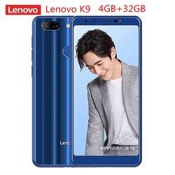 Lenovo K9 4G Smartphone 5.7'' Android 8.1 MTK6762 Octa Core 2.0GHz 4GB RAM 32GB ROM Quad Camera Fingerprint 3000mAh Mobile
