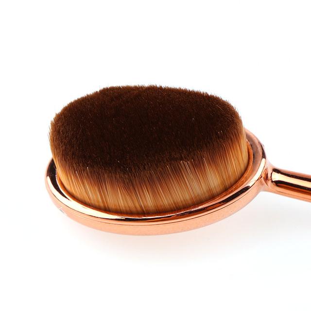 Professional Rose Gold/Black Makeup Brush