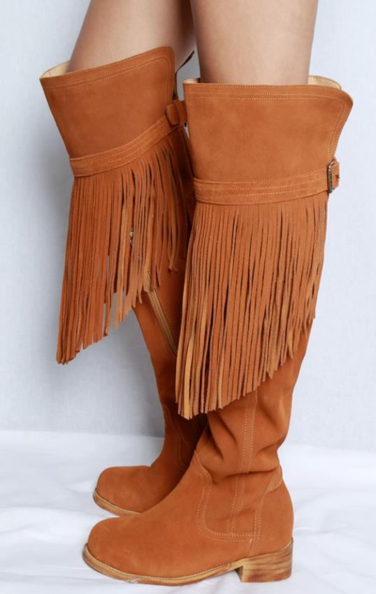 Botas Rodilla Moda De Chaussures Encima Mujer Rringe Alta La Mujeres Muslo Del Pic Por Gamuza As Invierno Zapatos dRwq7SS