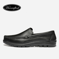 Handmade Top Quality Men S Genuine Leather Casual Shoes Loafers Men Casual Leather Shoes Original HECRAFTED