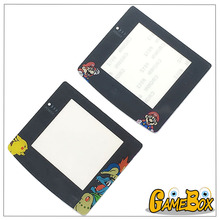 Limited Edition Pika/Mari Plastic Screen Lens Protector for Nintend GBC Gameboy Color Cover Replacement