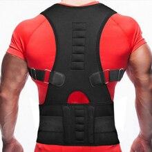 Adjustable Back Posture Corrector Spine Support Brace Shoulder Belt Correction Corrective Men Women