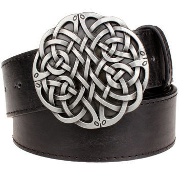 Fashion leather belt Celtic knot series ...