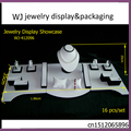 Bridal Set Jewelry Display Incount For Pendant Necklace Bracelet Bague Wedding Couple Rings Mixed Presentoires De Bijoux Organza