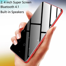 Metal Mp3 player bluetooth with Touch Screen Build in Speaker HIFI Music player with FM Radio sound recording Ebook