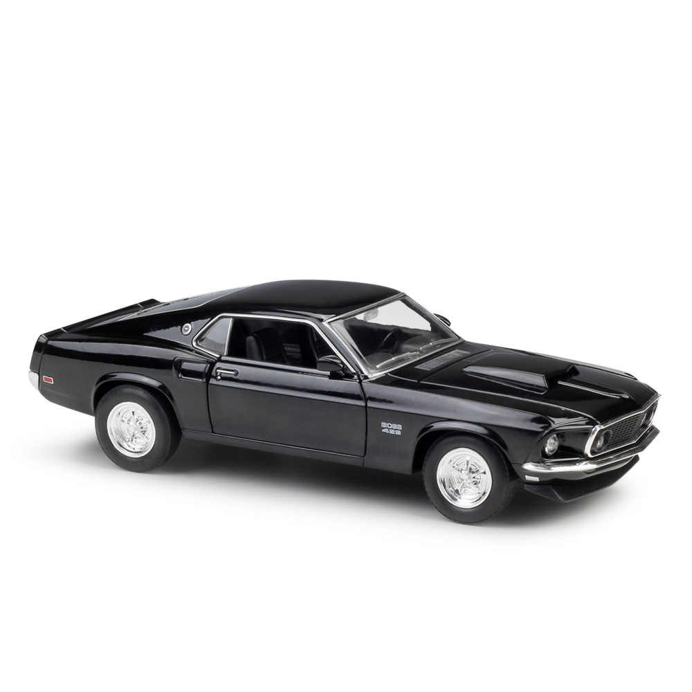 Welly 124 ford mustang 1969 boss 429 diecast alloy model car toy car