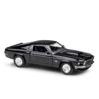 WELLY 1:24 FORD MUSTANG 1969 BOSS 429 Diecast Alloy Model Car Toy Car