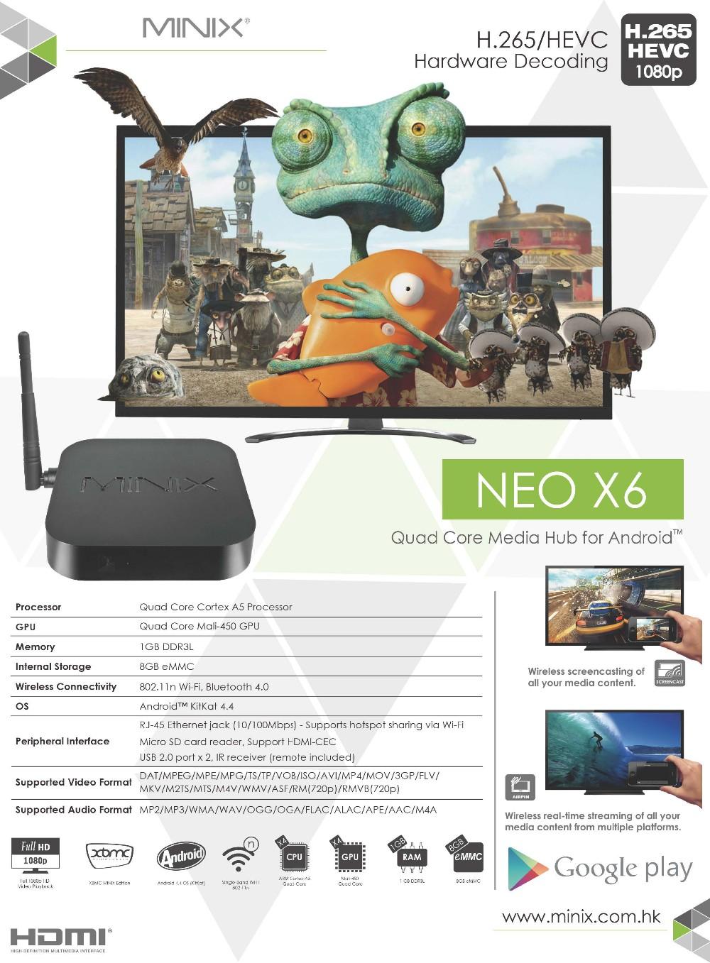 NEO X6 Leaflet