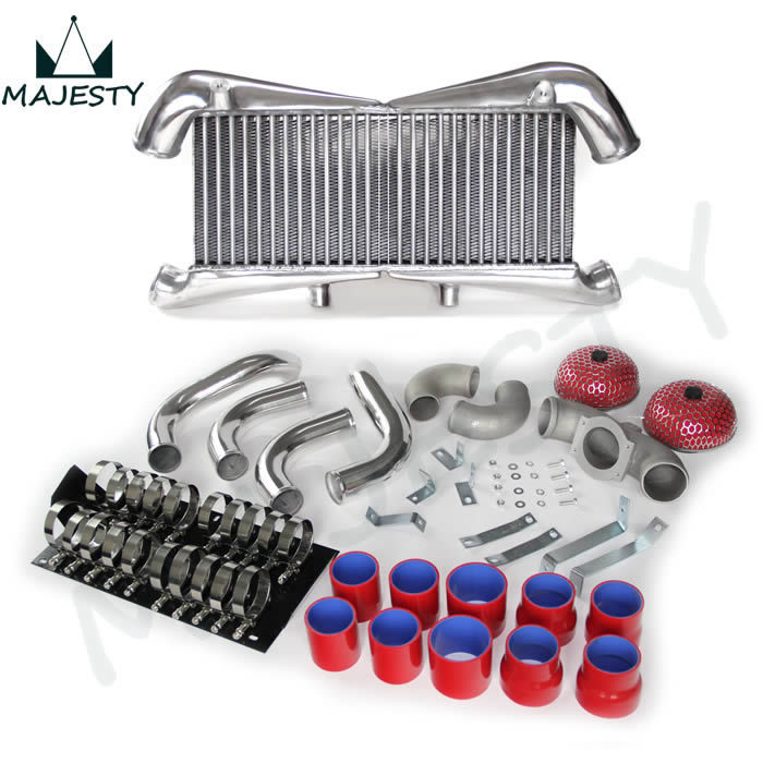 red for nissan 300zx twin turbo fairlady z32 vg30dett aluminum intercooler kitchina mainland