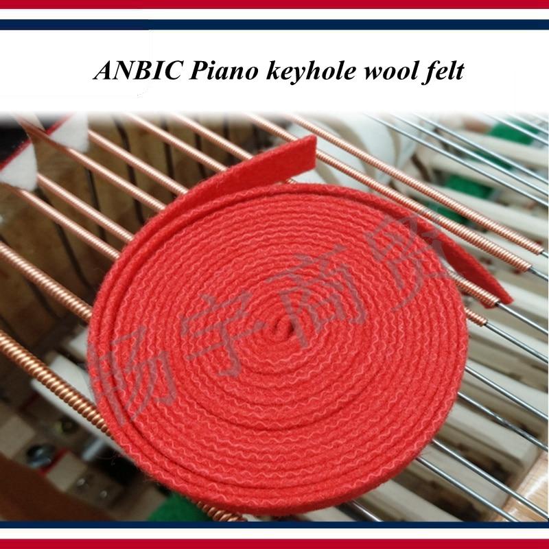 Piano Tuning Tools Accessories   ANBIc Piano Keyhole Wool Felt  Piano Repair Tool Parts