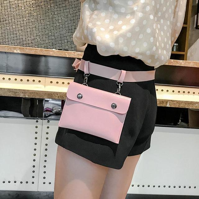 Sleeper #5001 модная женская однотонная кожаная сумка через плечо с застежкой Бесплатная доставка