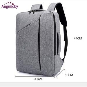 Image 5 - Anti Diefstal Multifunctionele Mannen 15.6Inch Laptop Rugzakken Voor Tiener Mode Mannelijke Stedelijke Rugzak Mannelijke Reizen Business School Tassen