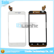 For JIAYU G4 G4S G4T G4C New Outter White Touch Screen Panel Digitizer Glass Lens Sensor Replacement Free Ship + Track No.