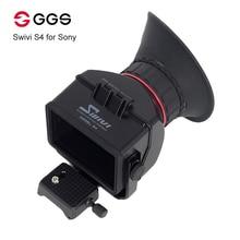 "GGS Swivi S4 3.0x3.0 ""16:9 液晶カメラファインダーソニー A7 A7R A7S NEX 7 NEX 6 NEX 5R NEX 5T a6000 A5000 デジタル一眼レフビューファインダー"