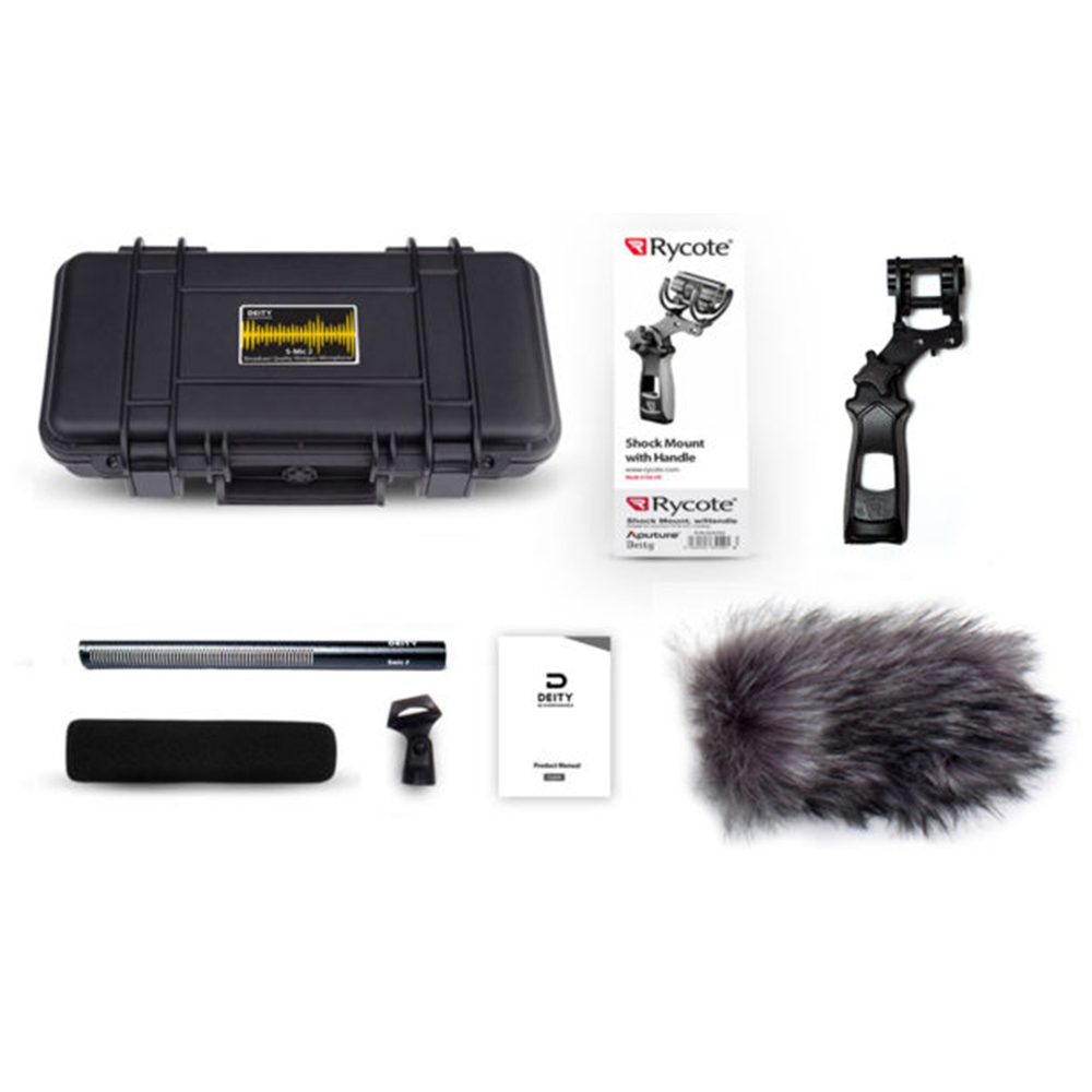 Deity S Mic 2 Location Kit Superior Off axis High Sensitivity Low noise Directional Microphone for