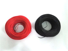 100 metre 22# Silicone Wire 22 AWG Silica Gel Wires 22AWG Conductor Construction 60/0.08mm High Temperature Tinned Copper Cable
