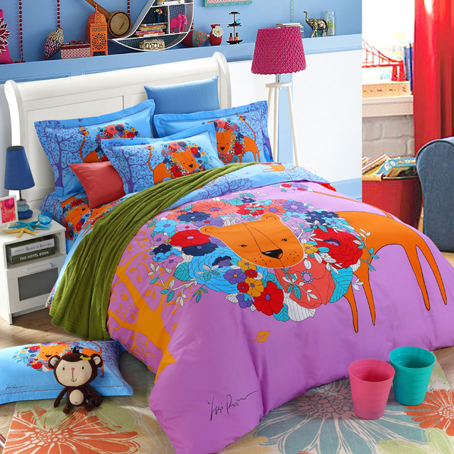 halloween hello kitty super mario the lion king spongebob barbie pokemon totoro bed fashion blue - Spongebob Bedroom Set