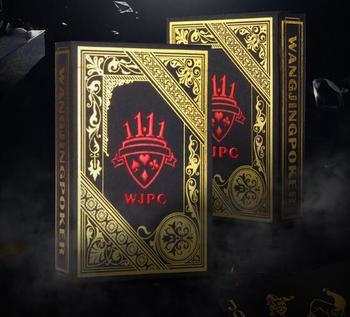89085988f0eda Product Offer. Черные бронзовые пластиковые игральные карты  персонализированные водонепроницаемые ...