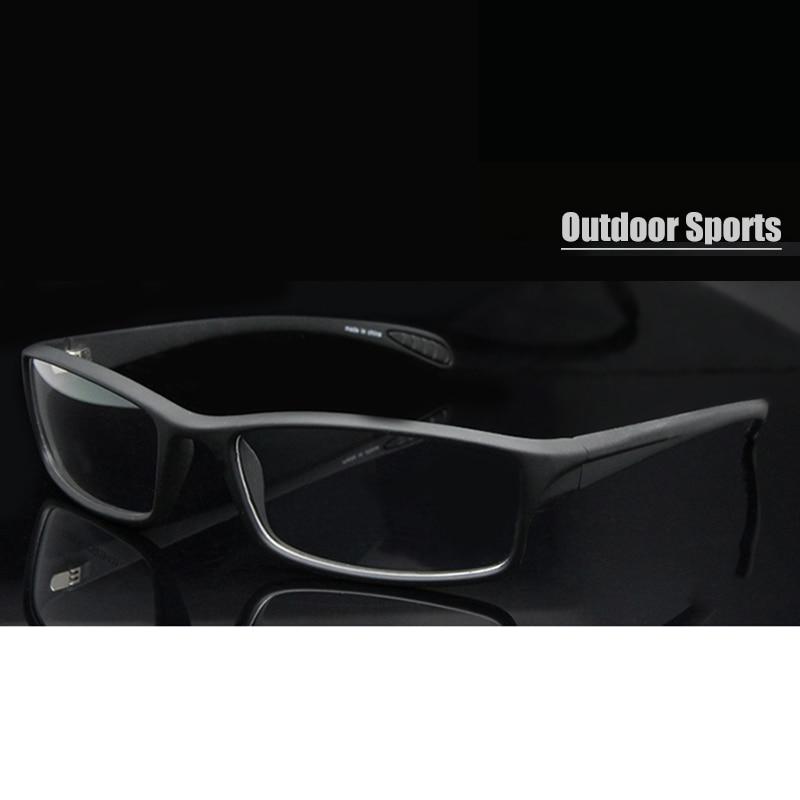 New 2015 Outdoor Sports Eyeglasses Googles TR90 Flexible Glasses Frame Men Prescription Eyewear plastic