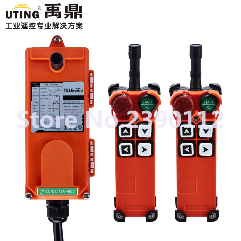 все цены на industrial wireless redio remote control F21-4S for hoist crane 2 transmitter and 1 receiver онлайн
