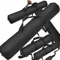 Torba na statyw czarny 35cm 45cm 55cm 65cm 75cm 85cm 90cm 100cm wyściełany pasek na statyw kamery torba do noszenia walizka podróżna dla Velbon torba na statyw