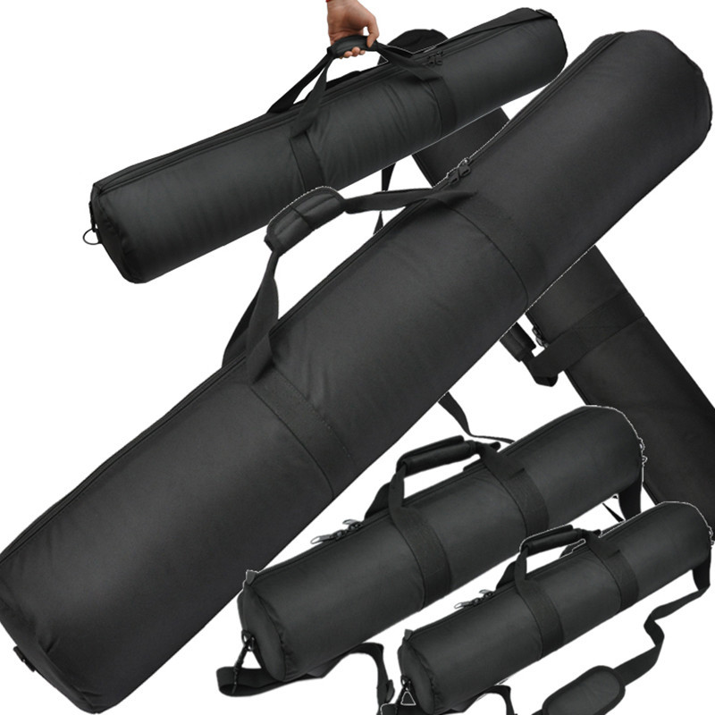 Tripod bag black 35cm 45cm 55cm 65cm 75cm 85cm 90cm 100cm Padded Strap Camera Tripod Carry Bag Travel Case For Velbon Tripod bag shockproof dustproof camera tripod carry bag
