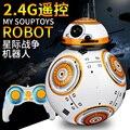 Etab BB-8 2016 Hot estrela - Wars 2.4 G controle remoto magnético suspensão de funcionamento brinquedos educativos para crianças robô inteligente