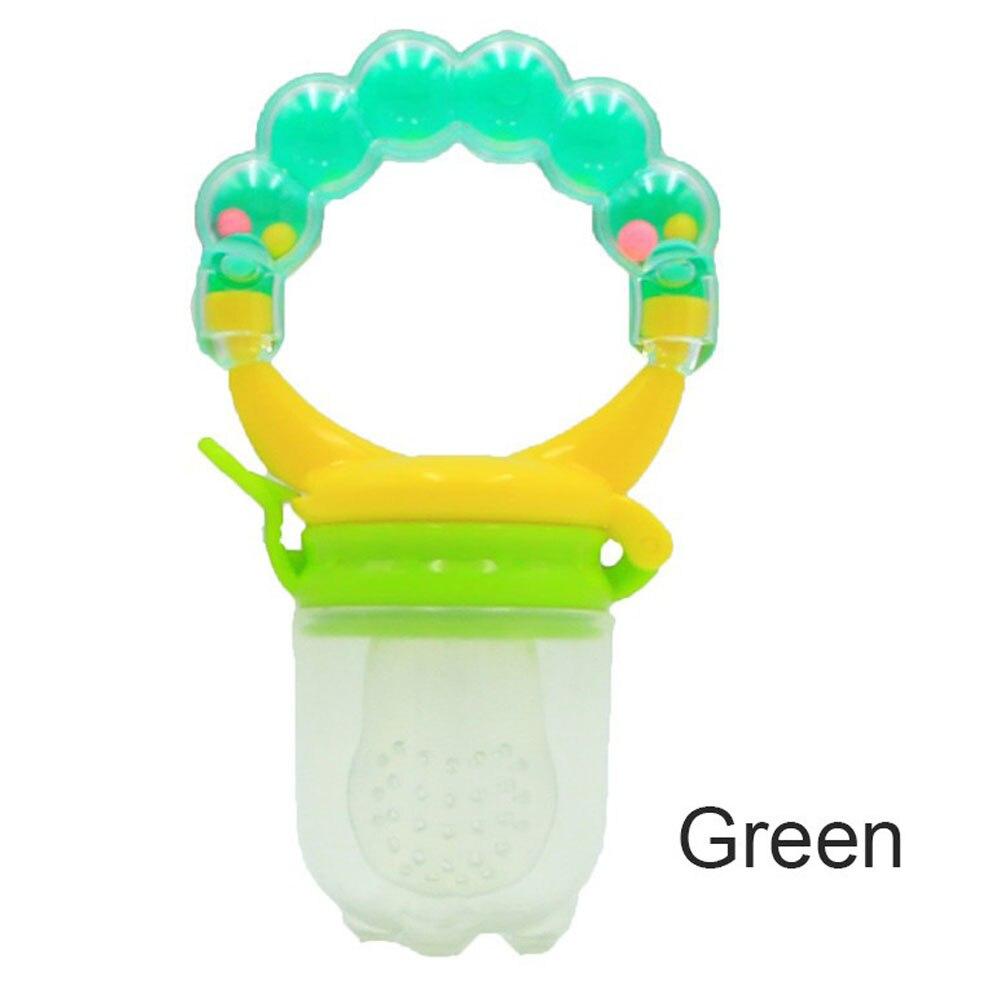 Детская силиконовая соска, соска для малышей, прищепка для соски, рукопожатие, красный/зеленый/оранжевый - Цвет: green
