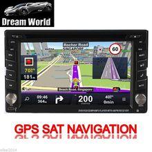 """Unidad Principal de Navegación de Radio MP4 Autoradio 2 din Coche Reproductor de DVD Estéreo GPS Mapa iPod En El Tablero de 6.2 """"Sistema de pantalla táctil CD Auto"""