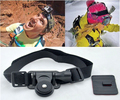 Camera Adjustable Head Helmet Belt Strap Headband Mount For GOPRO HERO 4/3+/3/2/1/sj4000/sj5000/sj6000 Skiing Extreme Sports