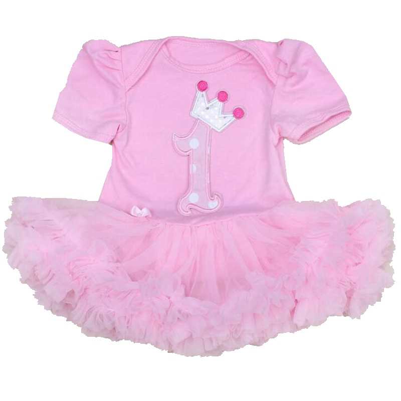 Pink Baby Girl Rompers Lace Ruffle for Toddler Birthday Outfits Infantil Bebe Jumpsuit Summer 2016 Girls Clothes Infant Clothing cotton baby rompers infant toddler jumpsuit lace collar short sleeve baby girl clothing newborn bebe overall clothes h3