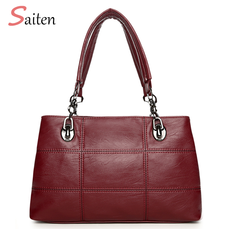 Fashion Handbags Women Bag 2017 New PU Leather Casual Tote High Quality Shoulder Bags ladies Hand Bags Bolsos Mujer Grandes 2016 new arrival fashion women handbags high quality shoulder bag ladies camouflage canvas tote bag women messenger bags bolsos