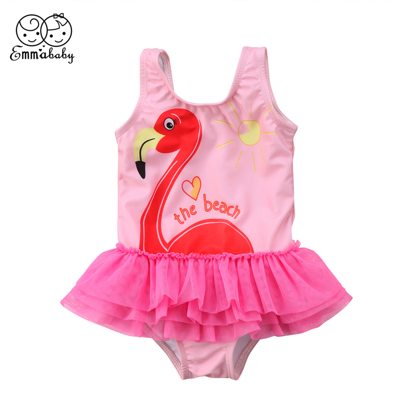9cd12644087 Detail Feedback Questions about Emmababy 1 6Y Kids Baby Girl bodysuit swim  one piece Tutu Swan Swimwear Ruffle Skirt pink Swimsuit Bathing Suit  bodysuis on ...