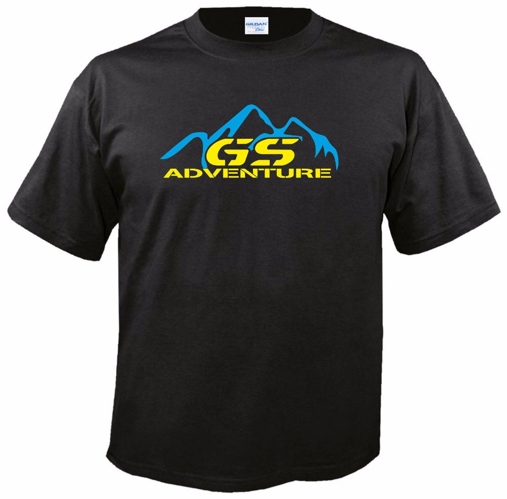Fashion Brand T Shirts Men Summer Casual Tee Shirts fan Adventure For R 1100 1150 1200 Gs Gsa Driver custom T Shirts ...