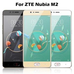 Image 2 - Tam ekran cam için ZTE Nubia Z17 Lite temperli cam Nubia M2 V18 Z18 Mini Z17 Mini S ekran koruyucu koruyucu Film