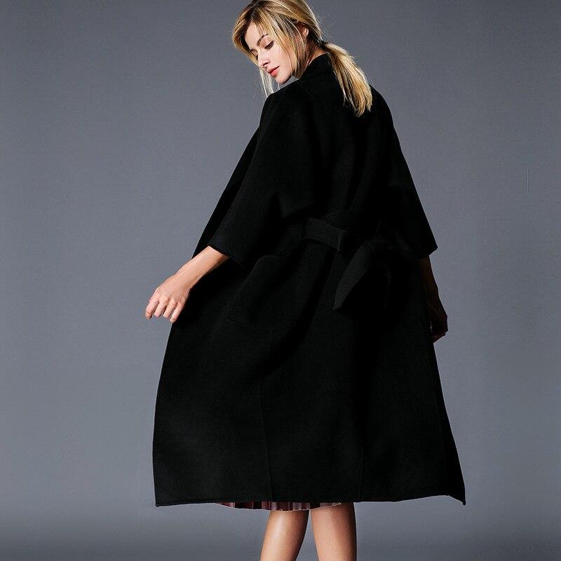 de mujer ajustable Europa collar moda calle plumas Abrigos vuelta Cqxdw