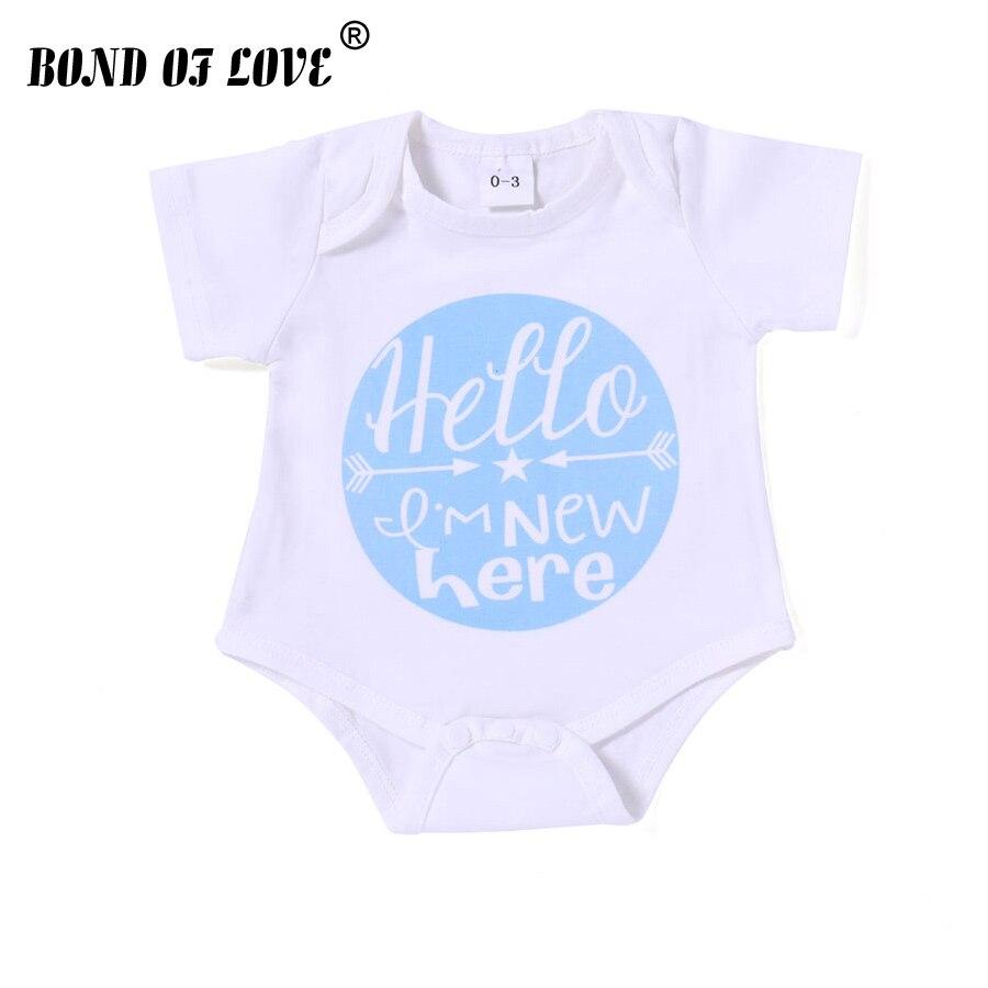 Baby Bodysuit Newborn Letter Body Suit Fashion Summer Baby Children Girl Boy Short Sleeve Baby Toddler Jumpers Infant Bodysuit