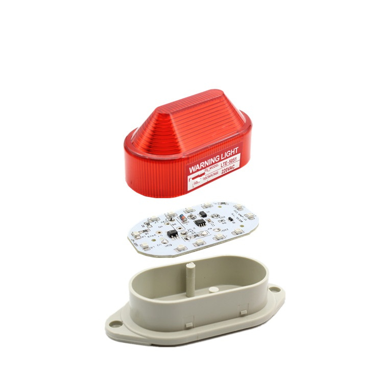Outdoor Security Alarm Strobe Signal Warning Light LED Lamp small Flashing Light(no sound)