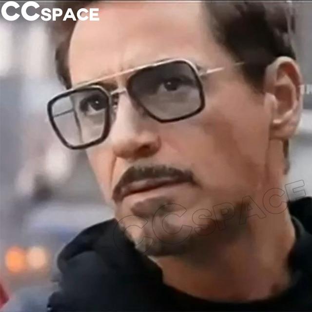 e7a63c1cdfecf6 2018 Endgame IRON MAN Sunglasses Matsuda TONY Steampunk Sun Glasses Men  Women New Retro Shades UV400 Brand Glasses Oculos