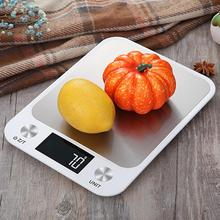 New Digital Scale 5kg Stainless Steel Flat Jewelry Accurate Scale Portable Household Digital Mini High Quality #0821
